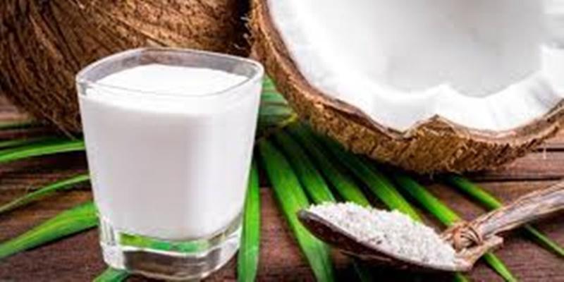 il latte di cocco